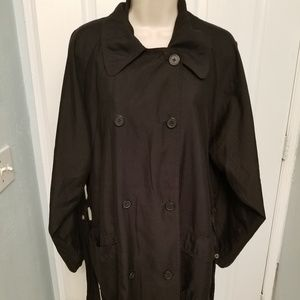 Eddie Bauer Double Breasted Trench